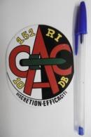 """Autocollant Stickers - Armée De Terre : 151è Régiment D'Infanterie CAC 10è Division Blindée """"Discrétion Efficacité"""" - Stickers"""