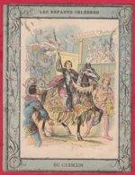 Protége Cahier Ancien Fin XIXéme Collection  Les Enfants Célébres DU GUESCLIN - Book Covers