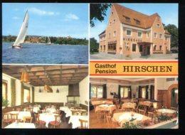 CPM Allemagne GAIENHOFEN Gasthaus Hirschen HORN Am Bodensee (prévue à être Pliée En Deux) - Deutschland
