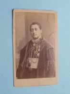 DP Monseigneur PIERAERTS ( Prètre / Professeur ) Anvers 28 Mars 1835 - Louvain 30 JHanv. 1887 ( CDV PhotoPrent ) ! - Obituary Notices