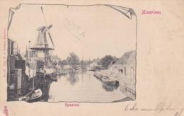 Haarlem Spaarne Molen En Scheepvaart # 1901     157 - Haarlem
