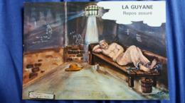 CPSM GUYANE FRANCAISE REPOS ASSURE OEUVRE DU FORCAT LAGRANGE CACHOT PRISONNIER ED DELABERGERIE 25 - Guyane