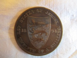 Jersey: 1/12 Shilling 1894 - Jersey