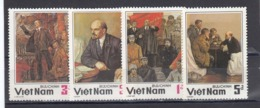 Vietnam 1984 - 60th Anniversary Of LENIN, Mi-Nr. 1501/04, Perforated, MNH** - Vietnam