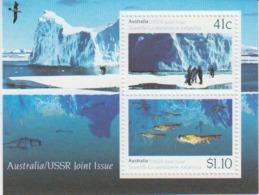 Australia 1990 Antarctica / Joint Issue With USSR M/s ** Mnh (44949) - Australisch Antarctisch Territorium (AAT)