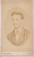 CDV - Portrait Nommé : E. De Cotte Par J.-L. EYCKERMANS à St-Denis - Ile De La Réunion (14/09/1875) - Dédicace - Photos
