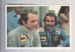 LUADA E CLAY REGAZZONI...PILOTA....AUTO..CAR....VOITURE....CORSE...FORMULA 1 UNO - Car Racing - F1