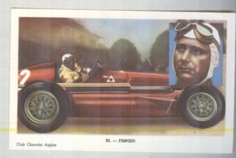 FANGIO....PILOTA....AUTO..CAR....VOITURE....CORSE...FORMULA 1 UNO - Car Racing - F1