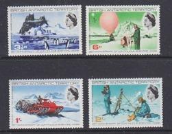 British Antarctic Territory (BAT) 1969 Scientific Works 4v  ** Mnh (44951) - Brits Antarctisch Territorium  (BAT)
