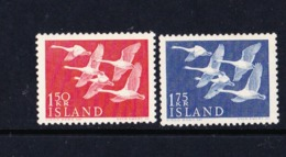 STAMPS-ICELAND-1956-UNUSED-SEE-SCAN-MNH** - 1944-... Republic