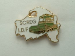 PIN'S SCREG ILE DE FRANCE - BTP - TP - Badges