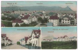 SINGEN 1912 Mit Radolfszellerstarsse Und Poststrasse - Singen A. Hohentwiel