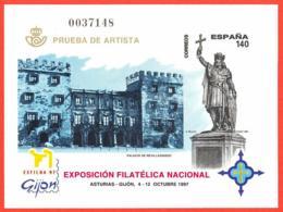 España. Spain. 1997. PO. EXFILNA '97. Gijon. Asturias - Exposiciones Filatélicas