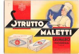 14831 FRATELLI MALETTI CASINALBO MODENA - STRUTTO - Pubblicitari
