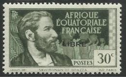 AFRIQUE EQUATORIALE FRANCAISE - AEF - A.E.F. - 1941 - YT 103** - A.E.F. (1936-1958)