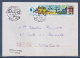 = Union Française De Philatélie Polaire Auvergne Atic-Club Chamalière 7-8 Juin 1997 Enveloppe Timbre 3073 Congrès FFAP - Eventos Y Conmemoraciones