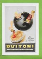 CPM UN SIECLE DE RECLAMES ALIMENTAIRES.Gastronomie.Pates Et Sauces Buitoni Cuisine.1960 - Advertising