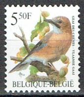 5,50 F Geai Des Chênes : Série Courante Des Oiseaux De Buzin - Belgien