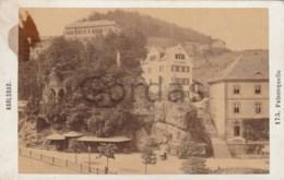 Czech Republic - Karlsbad - Felsenquelle - Photo Fridrich 100x65mm - Antiche (ante 1900)