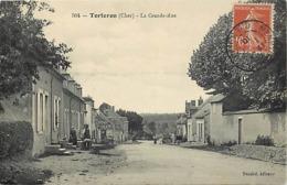 - Cher -ref-571- Torteron - La Grande Rue - Carte Bon Etat - - Autres Communes