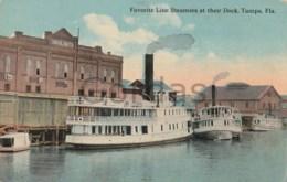 US - Tampa - Florida - Favorite Line Steamers - Paquebots
