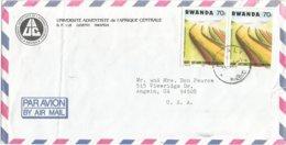 Rwanda 1986 Kigali Anti Erosion Cover - Rwanda
