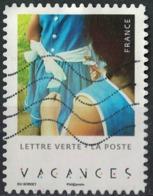 France 2019 Oblitéré Used Carnet Enfants En Vacances Dixième Photo - Frankreich