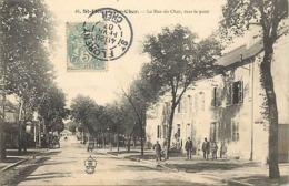 - Cher -ref-569- Saint Florent Sur Cher - St Florent Sur Cher -rue Du Cher Vers Le Pont - Hotel Du Pont Du Cher - Hotels - Saint-Florent-sur-Cher