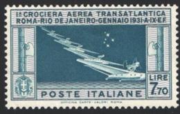 1930 Sass. Nº 25 Yvert Nº 25,    MNH - 1900-44 Vittorio Emanuele III