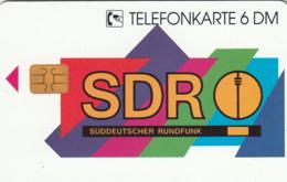 GERMANY - SDR Süddeutscher Rundfunk 12 (Cowboy), O 1924-11/95 , Tirage 2.000 ,mint - Allemagne