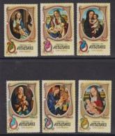 Série Complète AITUTAKI COOK ISLANDS YT 115-120 - Tableaux De VIERGE - MADONNA Religion NOEL CHRISTMAS 1974 - Paintings