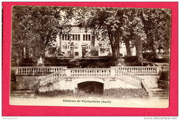 CPA (Réf : (C515) Château De Vézénobress(30 GARD) - Frankreich