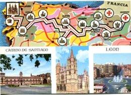 Espagne - Castilla Y León - León - Camino De Santiago - Multivues - Arribas 68 - 6570 - León