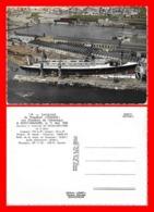 """CPSM/gf Bateaux.  Lancement Du Paquebot """"France"""" Aux Chantiers De L'Atlantique à Saint-Nazaire...D659 - Paquebots"""