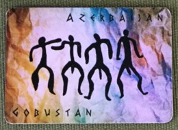 Gobustan Petroglyphs Azerbaijan Frigde Magnet, From Azerbaijan - Tourism