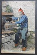 CPA 29 - CMCB 398 - Vieillard De Plougastel -(vue Rare, Différente De La CMCB 287)- Coutumes, Moeurs Et Costumes Bretons - Plougastel-Daoulas