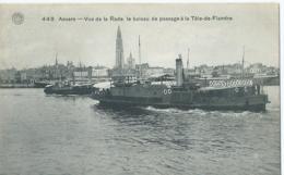 Antwerpen - Anvers - Vue De La Rade, Le Bateau De Passage à La Tête-de-Flandre - G. Hermans No 449 - 1911 - Antwerpen