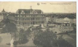 Antwerpen - Anvers - Place De La Commune Et Athenée Royal - Ern. Thill Serie 25 No 37 - 1919 - Antwerpen