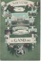 Gent - Gand - Souvenir De L'Exposition Internationale De Gand 1913 - Gent