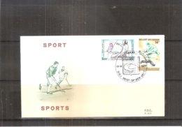 Hockey Sur Gazon- FDC Belgique 1866 - Hockey (Field)