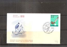 Hockey Sur Gazon- FDC Belgique 1548 - Hockey (sur Gazon)