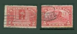 Amériques - Etats Unis Colis Postaux YT N° 2 5 Oblitérés - Parcel Post & Special Handling