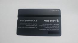 Israel-(bzp3)-lewenstein-beeri Business Card-(tirage-1.250)-mint Card+1card Prepiad Free - Israël
