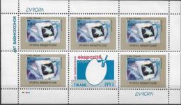 1993 Albanien Mi. 2529-30 **MNH Europa: Zeitgenössische Kunst. - Europa-CEPT