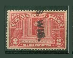 Amériques - Etats Unis Colis Postaux YT N° 2 Oblitérés - Parcel Post & Special Handling