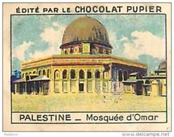 PU3     PALESTINE JERUSALEM  MOSQUEE OMAR .RELIGION ISRAEL ASIE 7 X 5 Cm  Chocolat Café - Old Paper