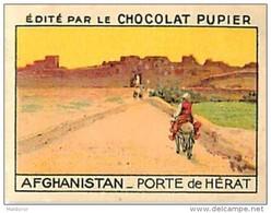 PU3    AFGHANISTAN  HERAT ARCHITECTURE   7 X 5 Cm ASIE   Chocolat Café - Vieux Papiers