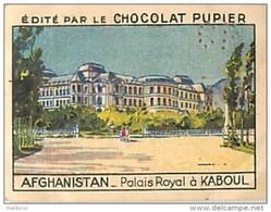 PU3    AFGHANISTAN  KABOUL  PALAIS ROYAL ASIE 7 X 5 Cm ARCHITECTURE  Chocolat Café - Vieux Papiers