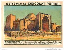 PU3    AFGHANISTAN  MOSQUEE  ASIE 7 X 5 Cm ARCHITECTURE RELIGION  Chocolat Café - Vieux Papiers
