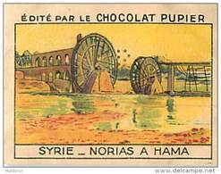 PU3    SYRIE   HAMA   NORIAS    7 X 5 Cm ASIE LIBAN ALLAOUIDES  Chocolat Café - Vieux Papiers